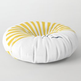Minimalistic Summer I Floor Pillow