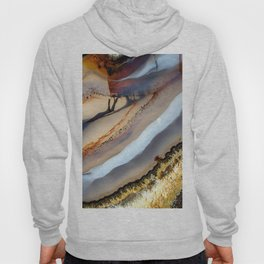 Agate abstract 1733 Hoody