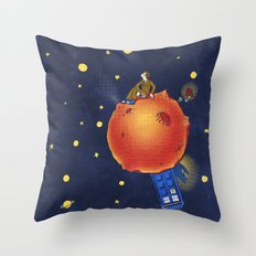 The Prince and the Rose Throw Pillow