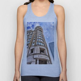 London Photography Canary Wharf Cabot Square Unisex Tank Top