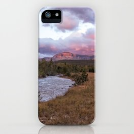 Early Morning at Many Glacier iPhone Case