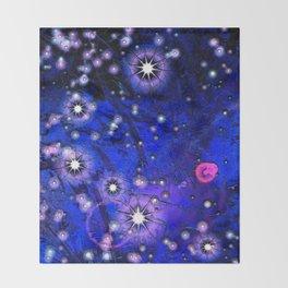 Novas Ultramarine Blue Throw Blanket