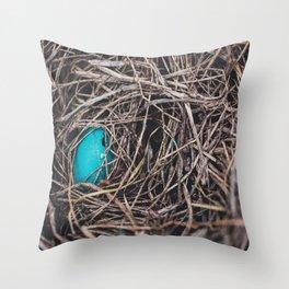 The Nest Throw Pillow