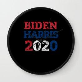 Biden Harris 2020 / Biden Harris Shirt / Joe Biden Wall Clock