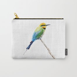 Rainbow Bee Eater by Teresa Thompson Carry-All Pouch