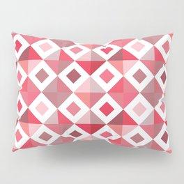 Floor-ish Red Pillow Sham