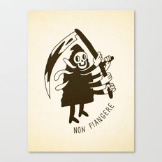 Non piangere Canvas Print