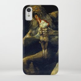 """Francisco Goya """"Saturn Eating his Son"""" iPhone Case"""