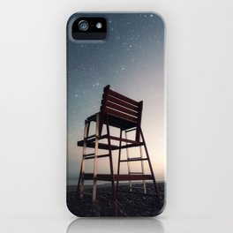 Lifeguard of the Night iPhone Case