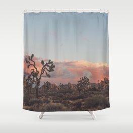 Joshua Tree Sunset No.2 Shower Curtain