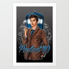 Perfect 10 Art Print