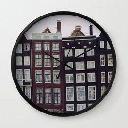 Amsterdam II Wall Clock