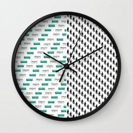 SF Giants Pattern Wall Clock