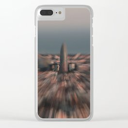 AGBAR TOWER Clear iPhone Case