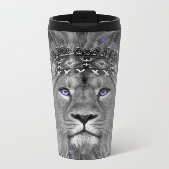 Don't Define Your World (Chief of Dreams: Lion) Tribe Series Metal Travel Mug