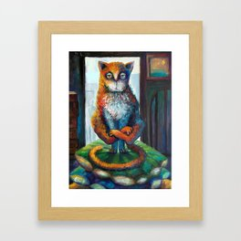 LOST in INDIA Framed Art Print