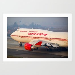 Air India 747-400 Art Print