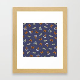 Monarch Idle Framed Art Print