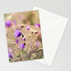 Purple Past Stationery Cards