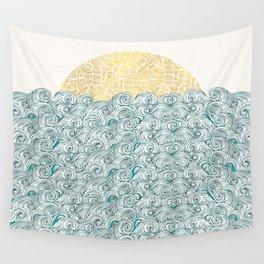 Sunny Tribal Seas Wall Tapestry