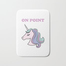 On Point Unicorn Bath Mat