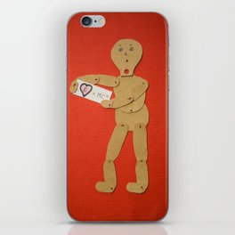 Love is complicated. iPhone Skin