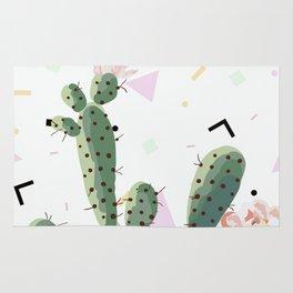 Memphis cactus Rug