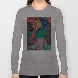 all the workers at the inside factory Long Sleeve T-shirt