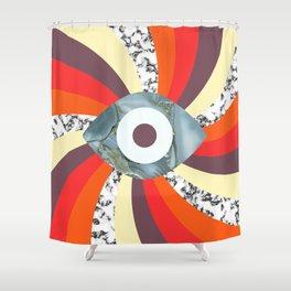 Hypno Retro Eye Shower Curtain