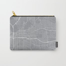 Montgomery Map, Alabama USA - Pewter Carry-All Pouch