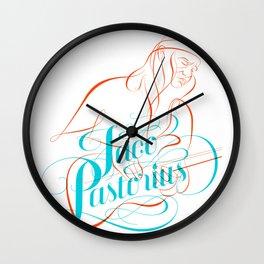 jaco pastorius Wall Clock