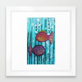 Fishy Framed Art Print