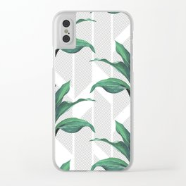 Greenhouse -jungle Clear iPhone Case