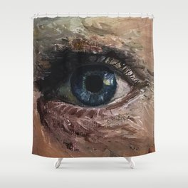 Eyesight Shower Curtain