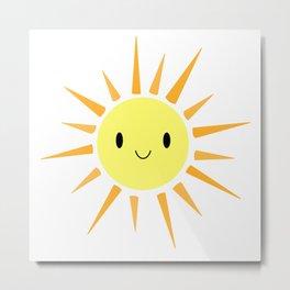 Cutie Pie Sun Metal Print
