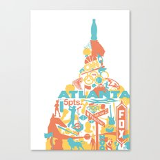 Atlanta, GA Canvas Print