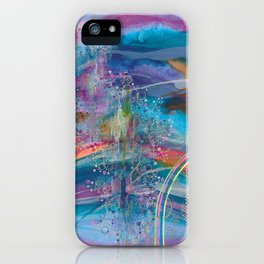 dreaming in color iPhone Case