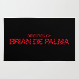 directed by Brian de Palma Rug