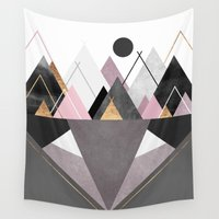 nordic Wall Tapestries featuring Nordic Wilderness by Elisabeth Fredriksson