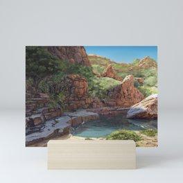Outback Oasis Mini Art Print