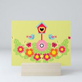 Vivid Garden Mini Art Print