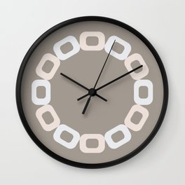 Pastel Oats Wall Clock