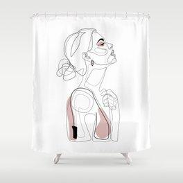Blush Beauty Shower Curtain