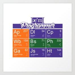 ae'm Programmer Art Print