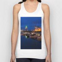 marina Tank Tops featuring Ardrossan Marina by Paul & Fe Photography