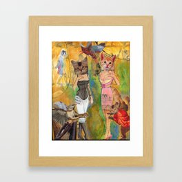 Our Exquisite New Corsets Framed Art Print