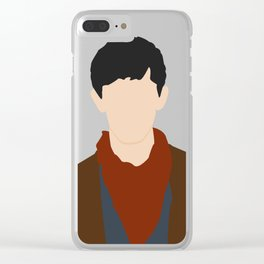 Young Warlock Clear iPhone Case