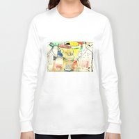 kitchen Long Sleeve T-shirts featuring kitchen by Matteo Lotti
