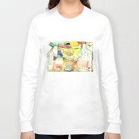 kitchen Long Sleeve T-shirts featuring kitchen by Matteo Lotti
