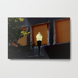 Solar Lighting Metal Print